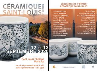 Paris - Céramique Saint-Louis - 12 et 13 Septembre 2020