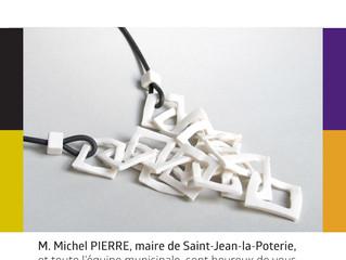 EXPOSITION: Bijoux de céramique Du 4 Novembre au 31 Décembre 2016 / Le Patiau - Saint Jean La Poteri