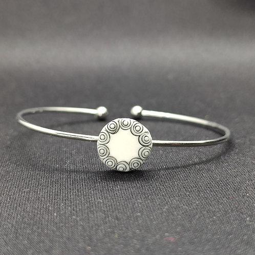 """Bracelet Porcelaine            Collection """"Mamoudzou"""""""