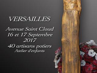Les Journées de potiers à Versailles / 16 et 17 Septembre 2017