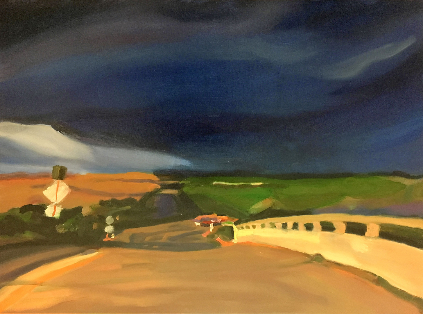 """Western Landscape #7"" Oil/Canvas 36x48 in."