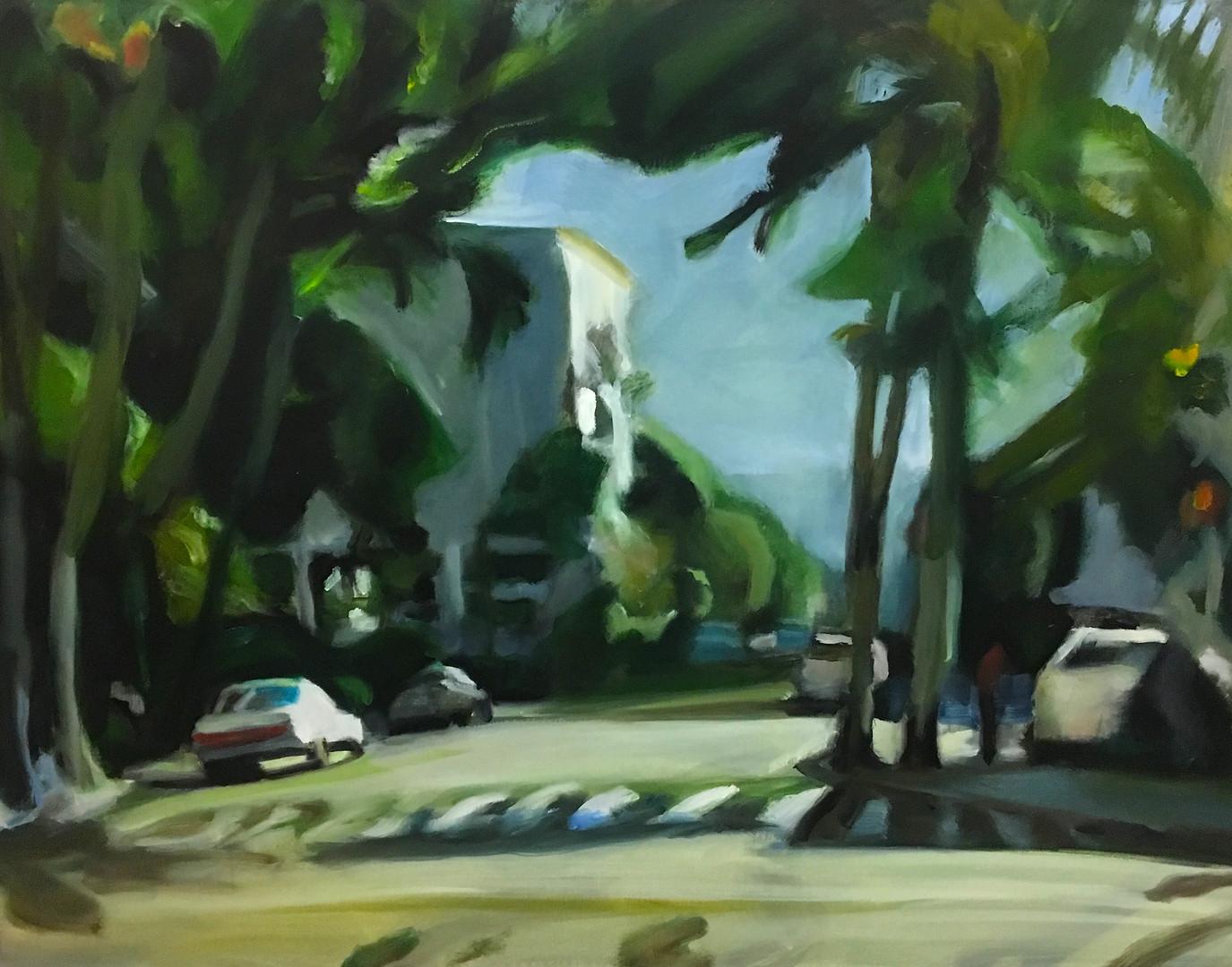 """""""Kuhio"""" Oil/Canvas 36x48in."""