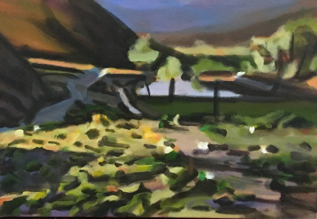 """""""Desert Ranch #2"""" Oil/Canvas 20.5 x 30 in."""
