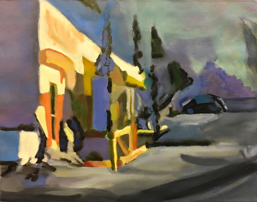 """""""From Venice Beach #4"""" Oil/Canvas 22 x 28 in."""