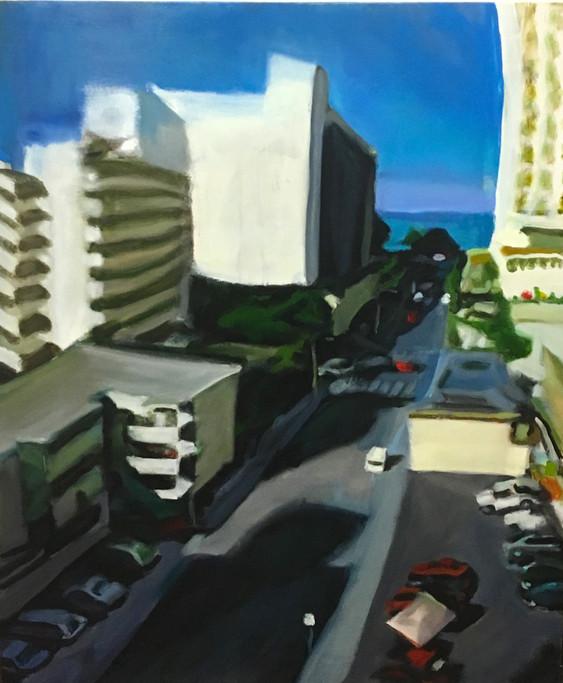 """""""Waikiki"""" Oil/Canvas 48x40in."""