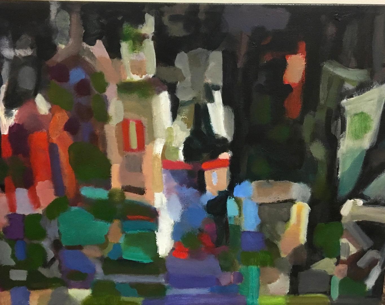 """Homage to Morandi Series""  Oil/Canvas 25.5 x 32 in"