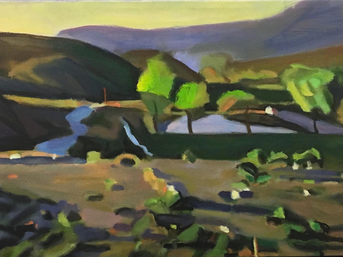 """""""Desert Ranch #1"""" Oil/Canvas 22 x 30 in."""