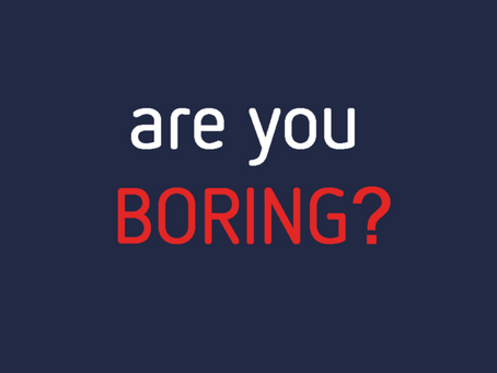 Are you nailing your pitch in an interview? Or are you a boring pitcher?
