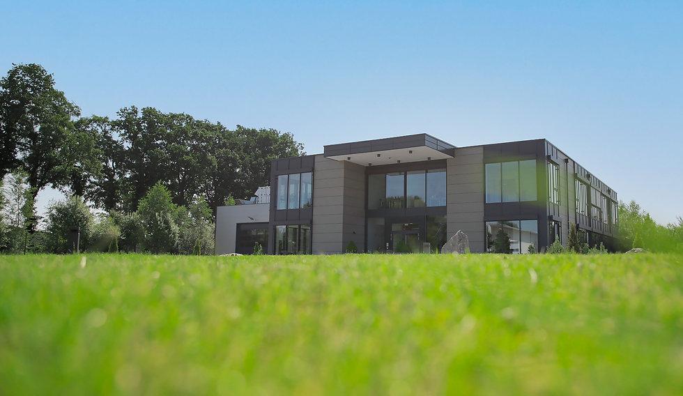 Firmengebäude des Food Fox Unternehmens