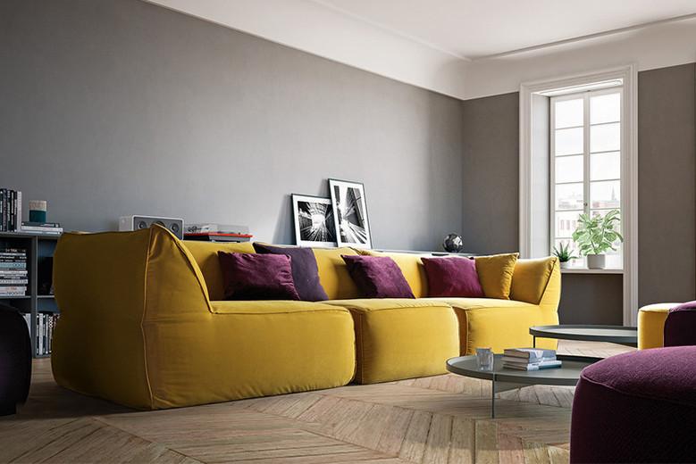 come-combinare-colori-e-materiali-nel-living