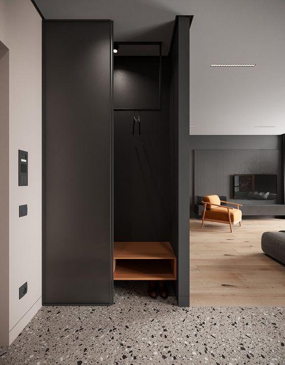 come-nascondere-un-pilastro-in-soggiorno-9