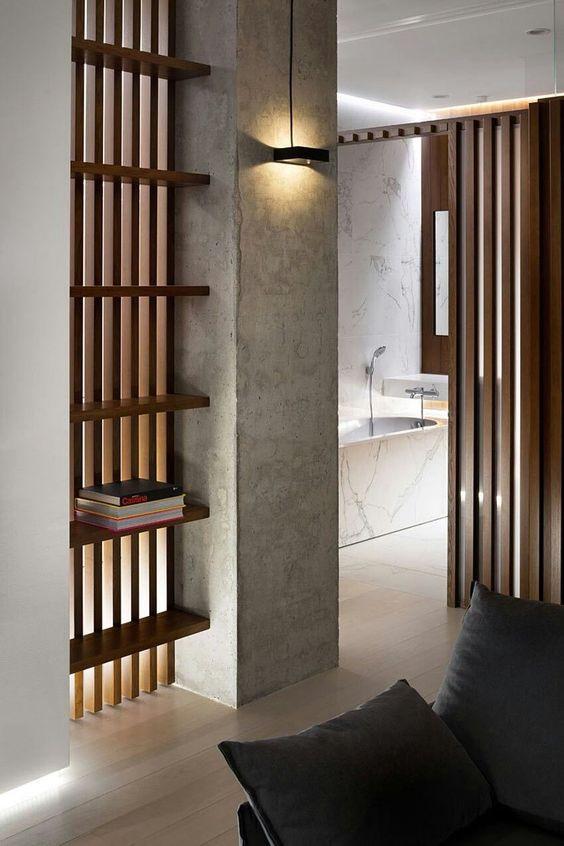 come-nascondere-un-pilastro-in-soggiorno-5