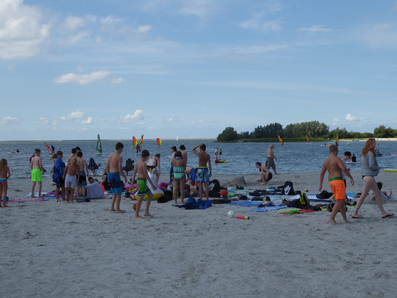 Strand am Isselmeer