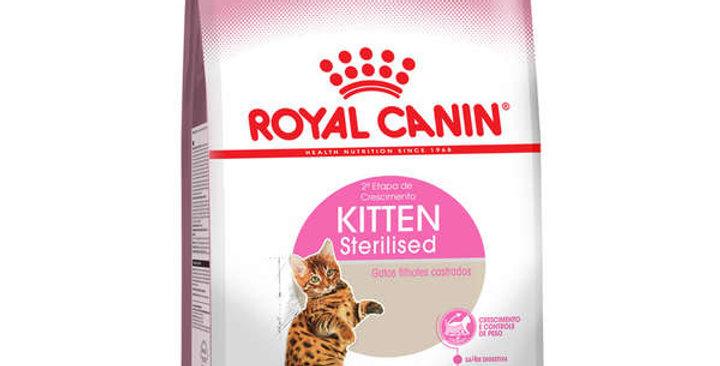 Ração Royal Canin Feline Health Nutrition Kitten Sterilised para Gatos Filhotes