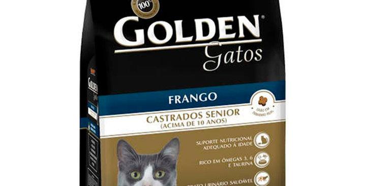 Ração Premier Pet Golden Gatos Castrados Sênior Frango