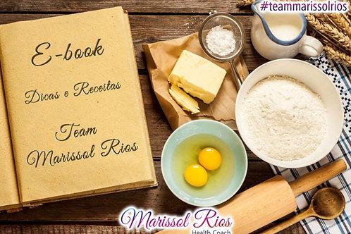 E-book de  Receitas Team Marissol Rios