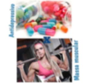 Antidepressivo e massa muscular