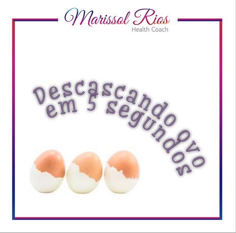 Como descascar ovos