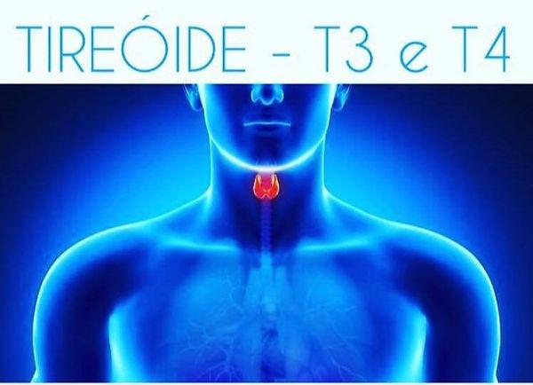 Tireóide - T3 e T4