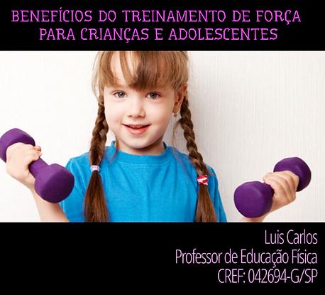 Treinamento - criança e adolescente