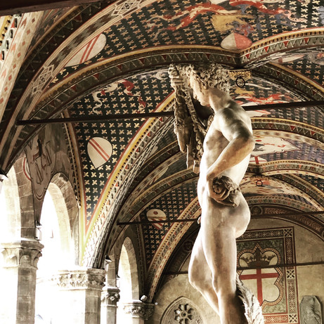 bargello museum and visual treats~