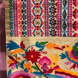 colorful and varied textile offerings~