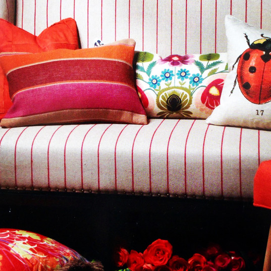 colorful showroom offerings/furnishings and accessories~