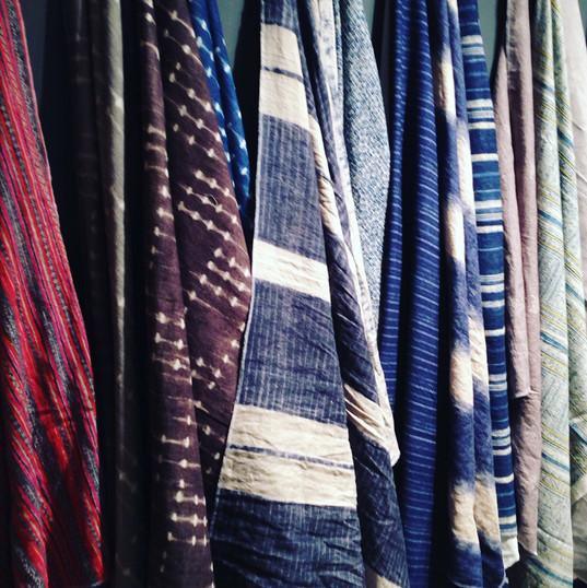 """green"" showroom textile offerings~"