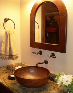 CADENET DESIGN - RUSTIC BATHROOM