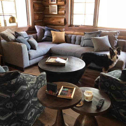 Solitude guest cabin living room~