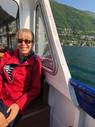 robin christensen of cadenet design on the boat to the design conference~