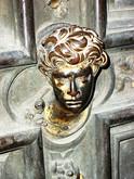 italian wonders, bronze giberti doors~