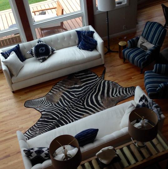 LPJH Luxury Properties Jackson Hole, Bear Trap Cabin - Living Room~