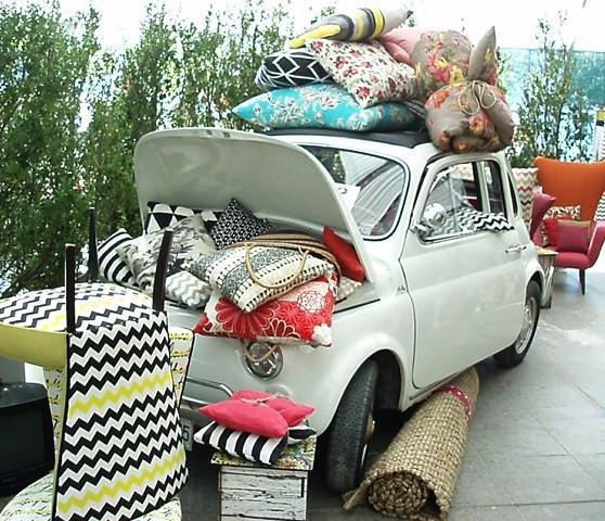spanish textile showroom~