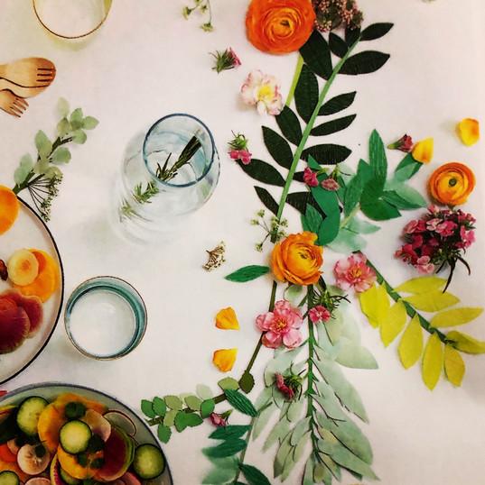 darling table vignette~
