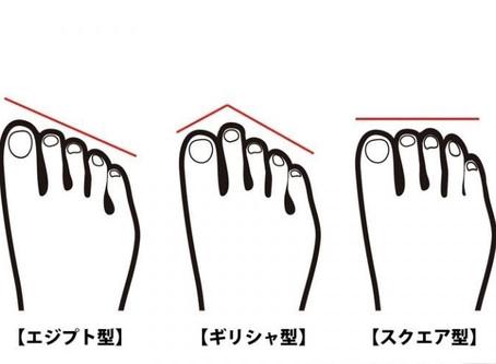 ~コラム~自分の足の形を理解しよう