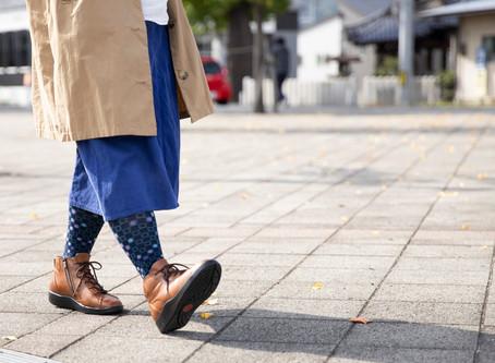 ~コラム~靴底の減り方でわかる足の状態チェック