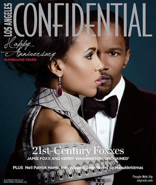 LA Confidential: Jamie Foxx & Kerry Washington