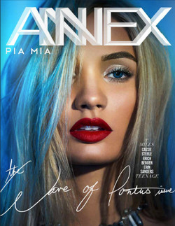 Pia Mia for Annex Magazine