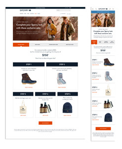 Sperry Bundle Landing Page