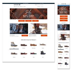 Sperry End of Season Sale Homepage