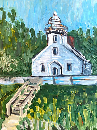 Mission Point Lighthouse Print