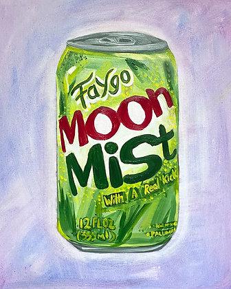 Moon Mist Print
