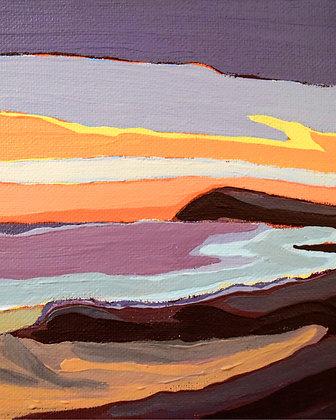 Summer Storm Sunset Print