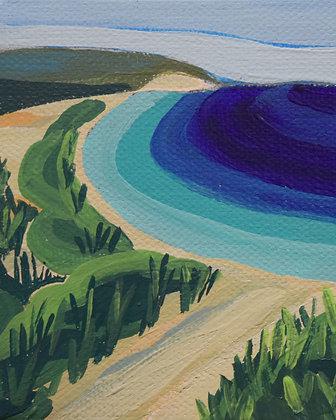 Path to the Beach Print