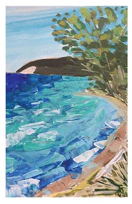 Lake Chop Print