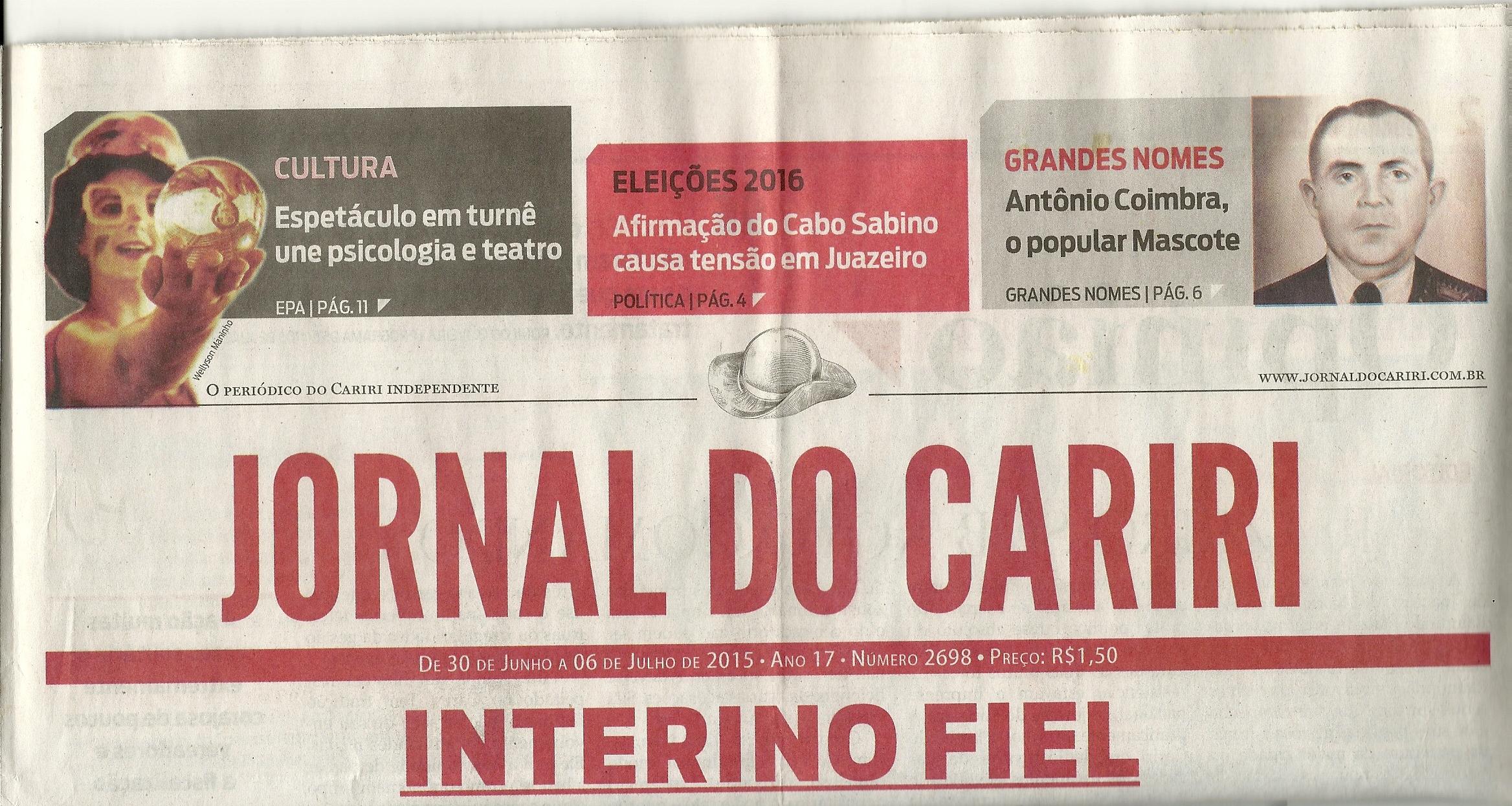 Reportagem Cariri_interior do Ceará
