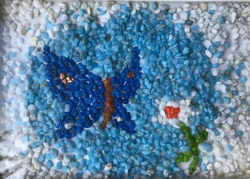 Decorative granules normal colour