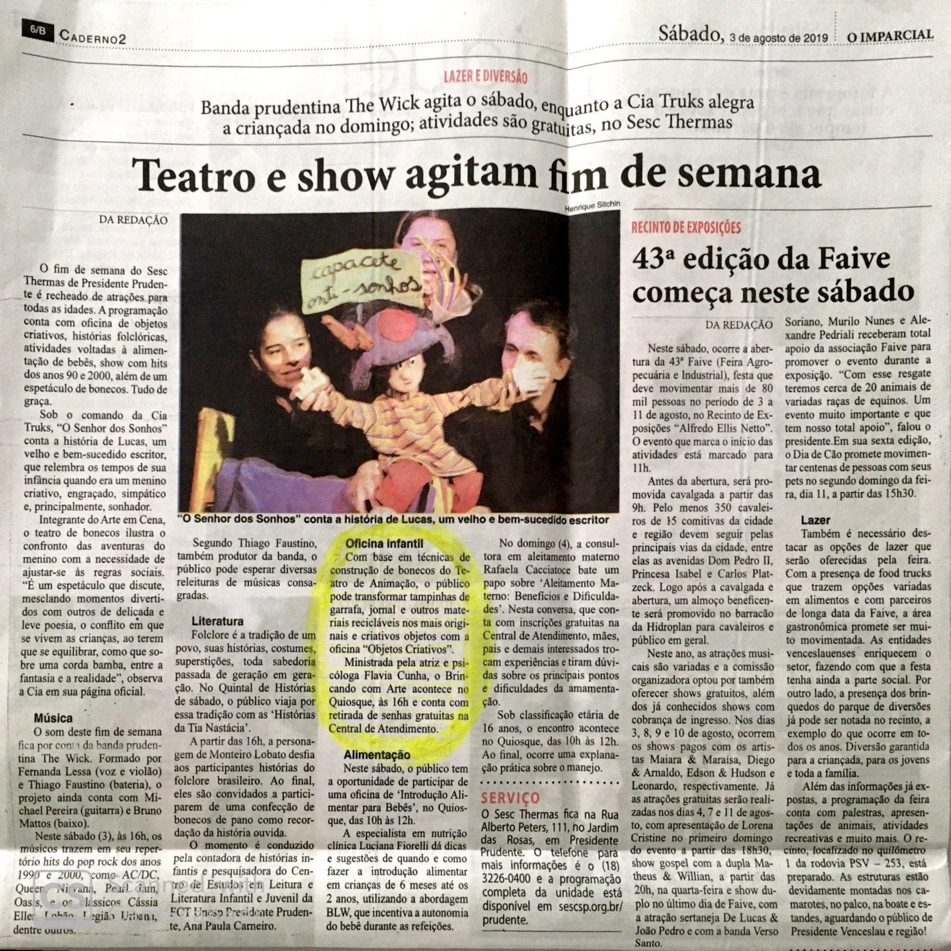 Jornal O Imparcial_agosto19
