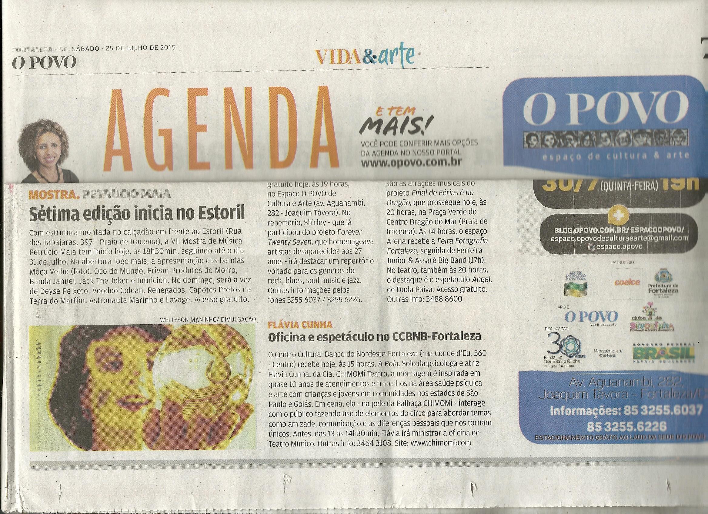 Jornal O POVO, Fortaleza /CE